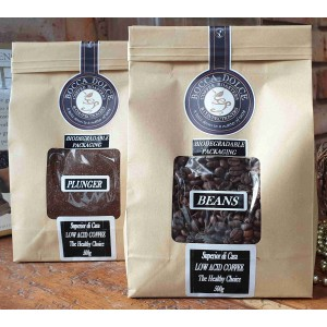 "Bocca Dolce ""Superior di Casa"" low acid Coffee: GROUND (500gr)"